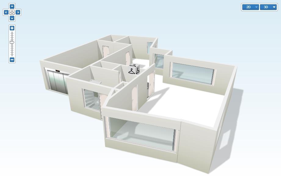 Plattegronden 2d 3d makelaar cato makelaars van for 2d plattegrond maken